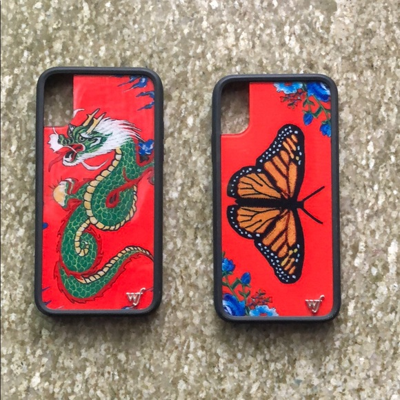 online store c7ba9 ec208 Butterfly and dragon phone case